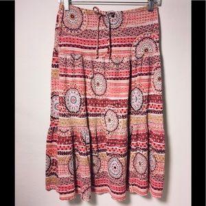 Dresses & Skirts - ZOEY & BETH boho In PINK PAISLEY Mandala Hearts